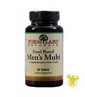 Витамины Food Based Men's Multi от Form Labs, 60 табл.