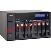 Сетевое хранилище (NAS) Qnap TVS-871-i3-4G/ 8 HDD/ Intel Core i3-4150 3.5ГГц/ (TVS-871-i3-4G)