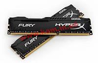 Оперативная память KINGSTON HyperX OC KIT DDR3 2x8Gb 1866Mhz CL11 Low Fury Black (HX318LC11FBK2/16)