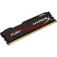 Оперативная память KINGSTON HyperX OC DDR3 8Gb 1600Mhz CL10 Low Fury Black (HX316LC10FB/8)