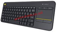 Клавиатура беспроводная (920-0071 47) K400 Plus DARK (920-007147)