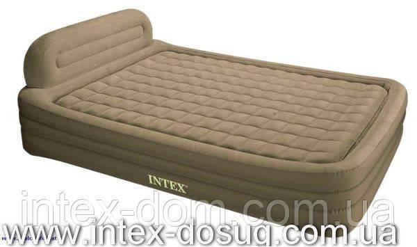 Надувная диван-кровать Queen Deluxe Frame Bed intex-66976 киев