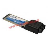 Адаптер Secure, ExpressCard Fast Ethernet Fiber (SC) Adapter; single pack (AT-2814FX/SC-001)
