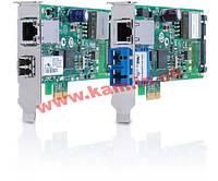 Сетевая карта PCI-Express Dual Port PoE+ Adapter: 1000LX LC Connector, 10/ 100/ (AT-2911GP/LXLC-001)