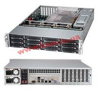 "Корпус Supermicro CSE-826BE1C-R920LPB - 2U, 2x920W, 12x3.5""HDD, Single SAS3 (1 (CSE-826BE1C-R920LPB)"