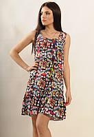 Нежное и романтическое повседневное платье свободного силуэта 42-52 размеры