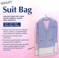 Чехол для хранения одежды на молнии, 60 х 9 х 100 см