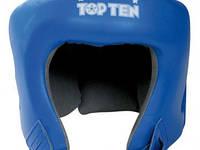 Шлем боксерский TOP TEN AIBA синий, красный