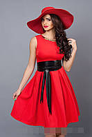 Платье мод 386-1 размер 42,44,46,48 красное