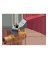 1005 шаровой кран (под пайку) BONOMI 22 мм