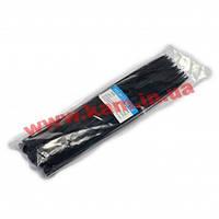 Стяжка CMS 300х4.0 мм, 100 шт, черная (INCT30040B)