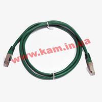 Патч-корд FTP, 2 м, кат. 5e, зелений (PAFT4200-GN)