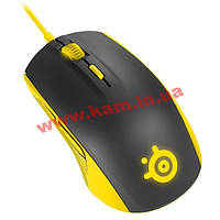Мышь SteelSeries Rival 100 Proton Yellow (62340)