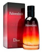 Духи мужские Christian Dior Fahrenheit 100 ml(диор фаренгейт)