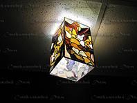 Витражи, витражные светильники