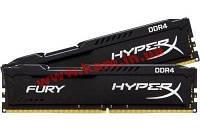 Оперативная память Kingston 8 GB (2x4GB) DDR4 2400 MHz HyperX FURY (HX424C15FBK2/8)