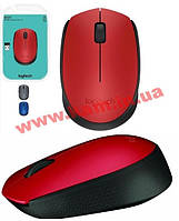 Мышь Logitech M171 Wireless Red/ Black (910-004641)