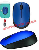 Мышь Logitech M171 Wireless Blue/ Black (910-004640)