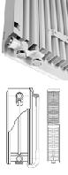 Радиаторы стальные панельные Integrale V22 Quinn 300х1800 мм 2498 Ватт