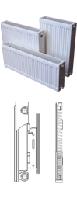 Стальной радиатор панельный Quattro K11 Quinn 500х1400 мм 1570 Ватт боковое подключение