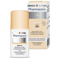 Pharmaceris Маскирующий тональный флюид IVORY 01 (слоновая кость) 30 мл