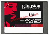 """Накопитель 1TB SSDNow KC400 2.5"""" 7mm SATA III Seq. R/ W 550/ 530 MB/ sec 99k/ 89k IOP (SKC400S37/1T)"""