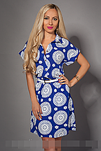 Платье мод 475-8,размер   ,50-52 электрик