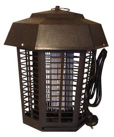 Уличный фонарь уничтожитель комаров и других насекомых «Энергия» CMD-15-B. Антикомарная лампа., фото 2
