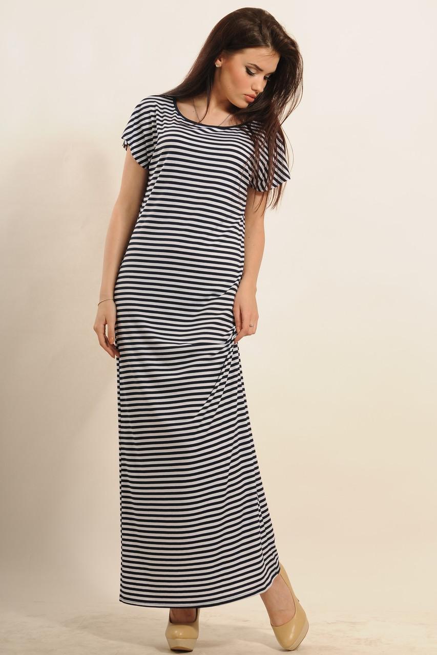 Прямое длинное платье летнее фото