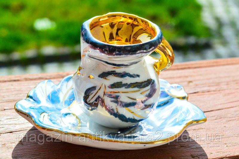 Оригинальная коллекционная Чашечка! Позолота!