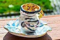Оригинальная коллекционная Чашечка! Позолота!, фото 1
