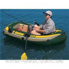 Надувная лодка Seahwak 1 Intex 68345 (108х193х38 см), фото 2