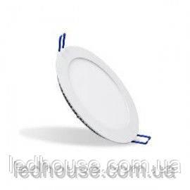 Светильник светодиодный 3Вт 3000К круглый встраиваемый