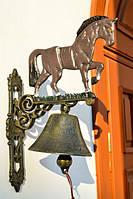 Шикарный колокол входной двери (настенный)! Англия!    Очень красивая работа в стиле Барокко,интересная форма