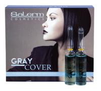 Salerm Cubre Canas средство для лучшего окрашивания седых волос 12х5 мл 8420282006705