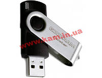Флеш память USB 2.0 8GB Twister Black (UTS2-0080K0R11)