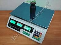 Торговые весы с аккумулятором Олимп A9 40кг (230х340мм)