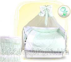 Детский постельний комплект Жирафчик