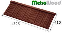 Композитная черепица MetroWood (МетроВуд)