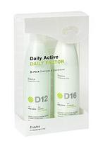 Erayba Набор D12D16 DAILY FACTOR для каждодневного ухода (шампунь 250 мл + Кондиционер 250 мл) Набор
