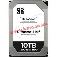 Жесткий диск 10TB Hitachi Ultrastar He10 256Mb 7200rpm SATA3 (HUH721010ALE604/ 0F27454) (0F27454)
