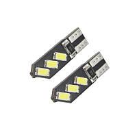 Светодиодная лампа цоколь Т10 (W5W) 6-SMD 5630, 12В