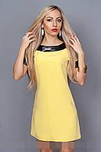 Платье мод. 240-8,размер 44,46,48,50 желтое