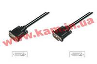 Кабель ASSMANN DVI-D dual link (AM/ AM) 2m, black (AK-320108-020-S)