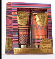 Mades Cosmetics Набор BOHEMA - кисет с косметикой: Гель для душа, Лосьон для тела 100+100 мл 8714462083724