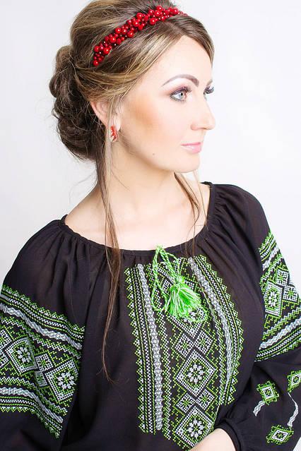 Прекрасная женская вышитая блуза , фото 2