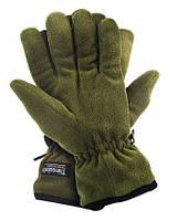 Перчатки флисовые +утеплитель Thinsulate (олива)