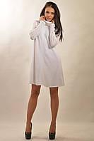 Зимнее теплое платье расклешенного А-силуэта 42-48 размеры