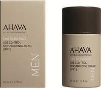 Ahava Age Control Moisturizing Cream SPF15 Men крем омолаживающий увлажняющий для мужчин SPF15 50 мл 697045150281
