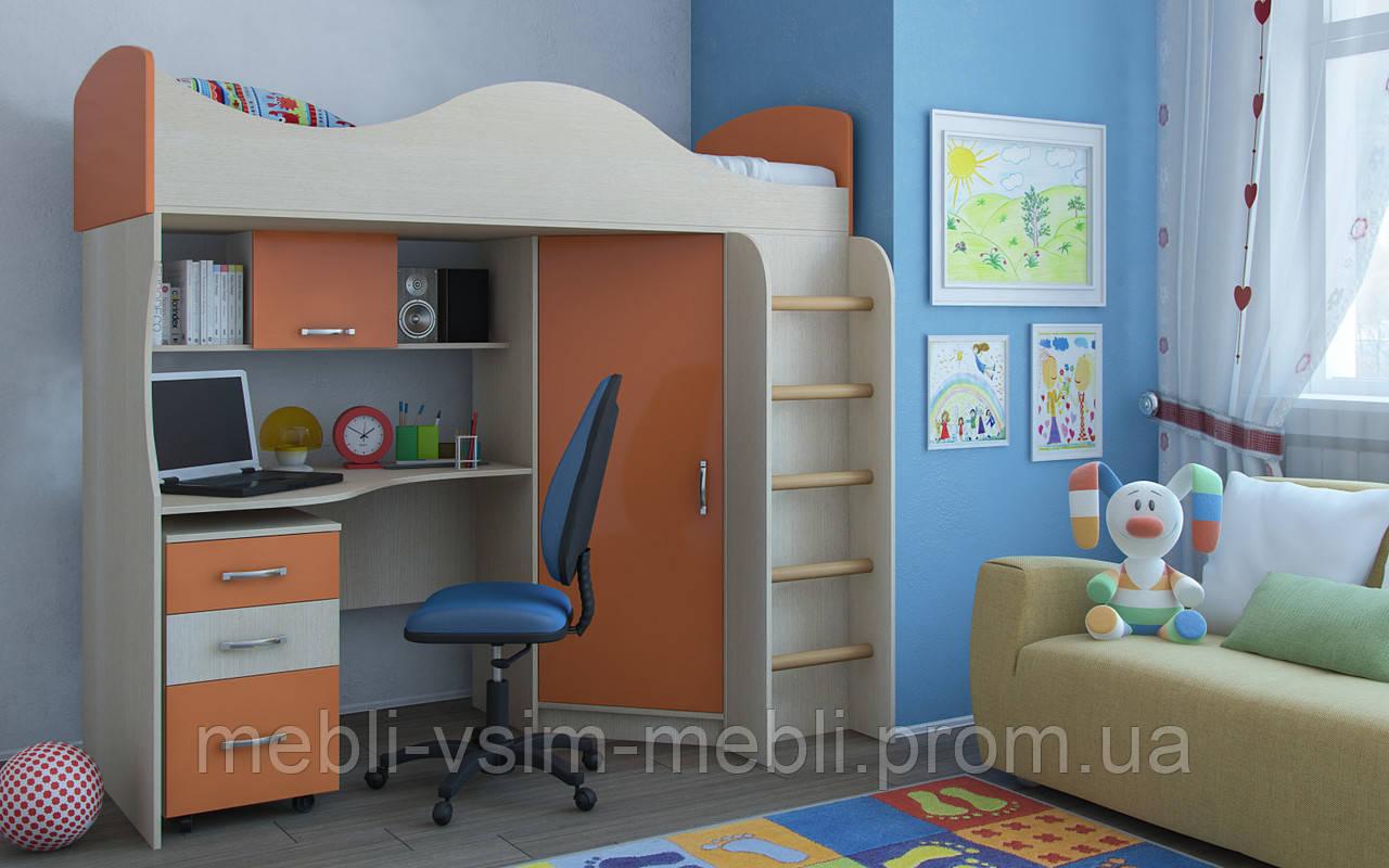 """Детская кровать чердак """"Пятый элемент"""", фото 1"""